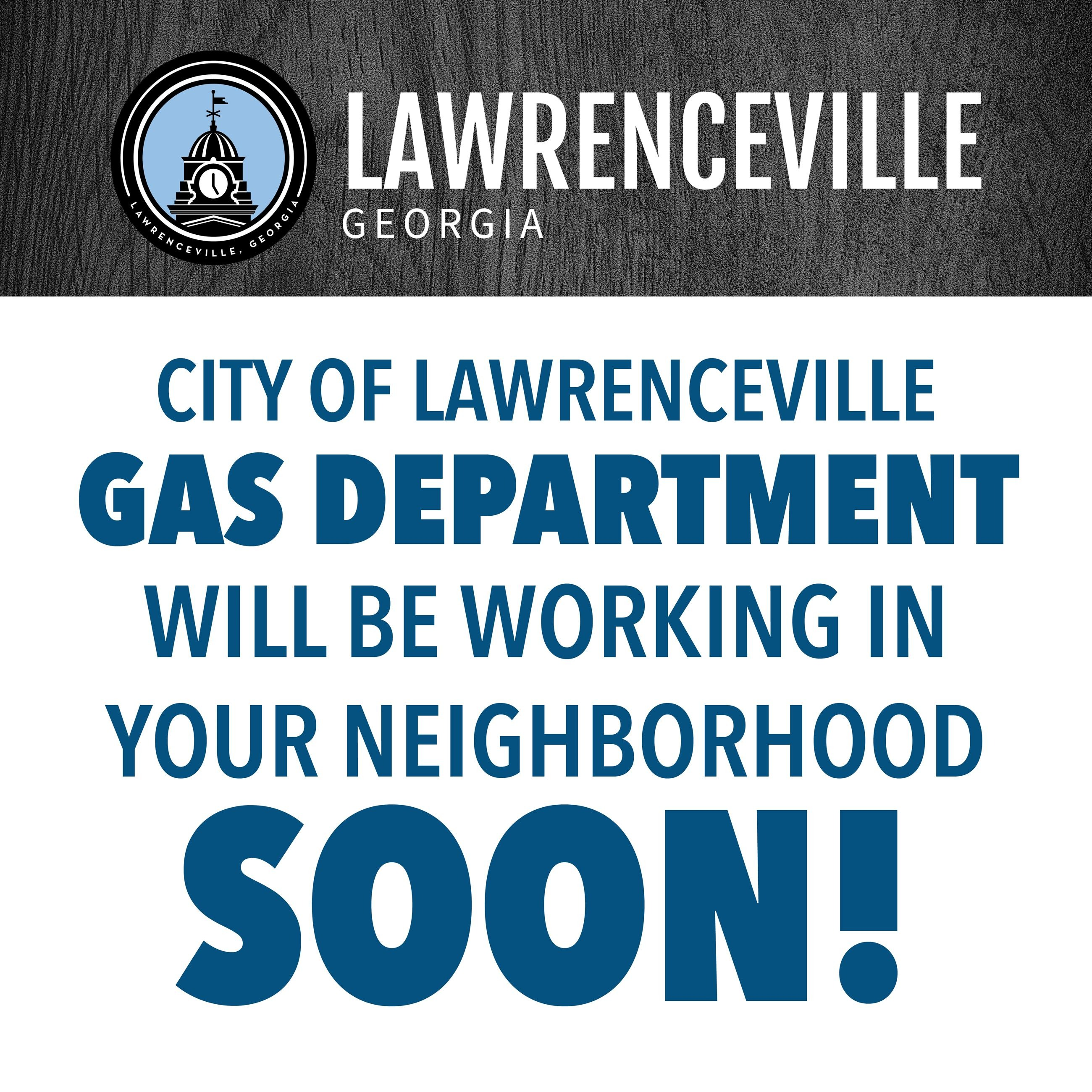 Lawrenceville Gas Department Graphic