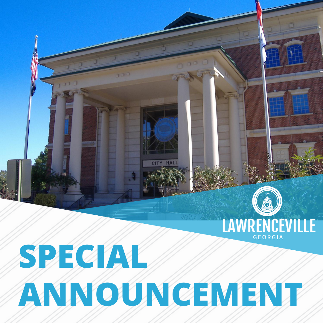 City Hall Special Announcement